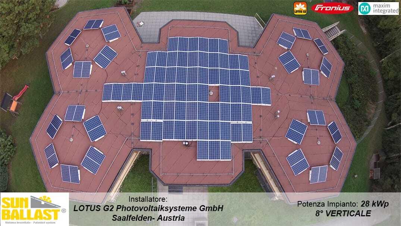 Lotus G2 Photovoltaik-<br>Systeme GmbH - Saalfelden - L'Autriche