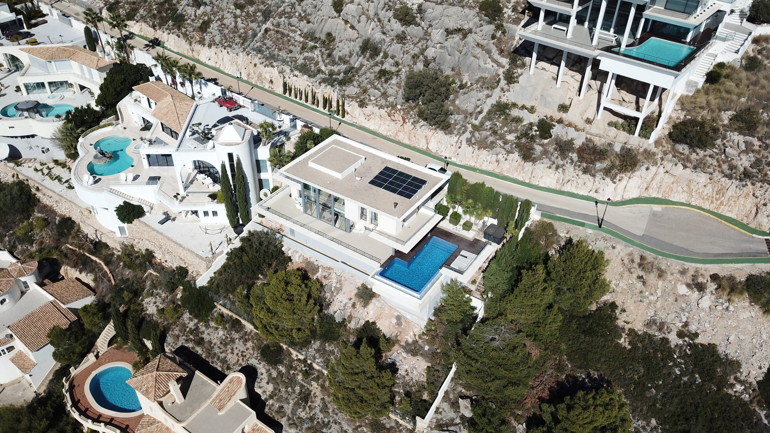 Solar Power Systems  - Altea Hills (Alicante) -  Spanien