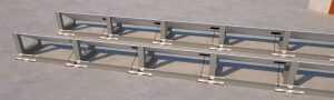 <b>CABLOWIND: Die Doppelfunktion Lösung für die Verlegung der Kabeln und als zusetlichgewicht für ihre PV-Anlagen.</b>