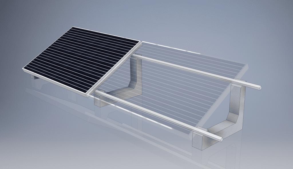 INSTALLING THERMAL SOLAR PANEL? SUN BALLAST HAS THE SOLUTION, EVEN THREE!